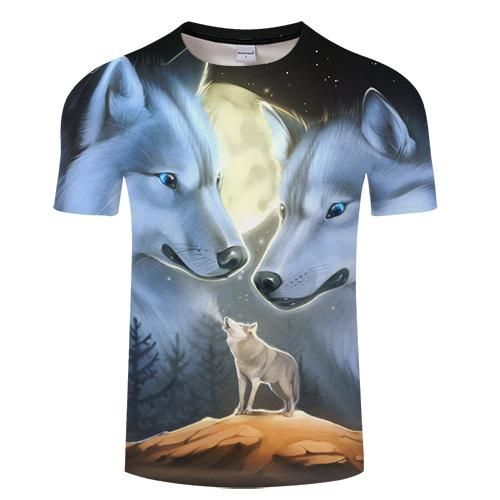 3D Hypnosis Tie-Dye Print Men Women Casual T-Shirt Short Sleeve Graphic Tee Tops