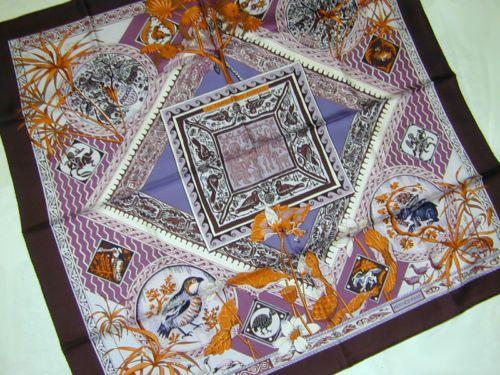 Hermes 'Le Jardin de Coptes' scarf