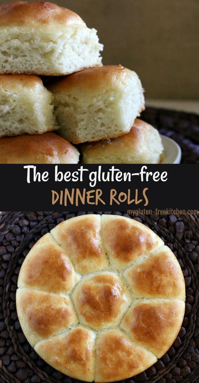 Gluten-free Pull-Apart Dinner Rolls {dairy-free option}