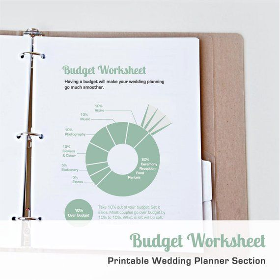 printable wedding budget worksheet printable wedding planner in