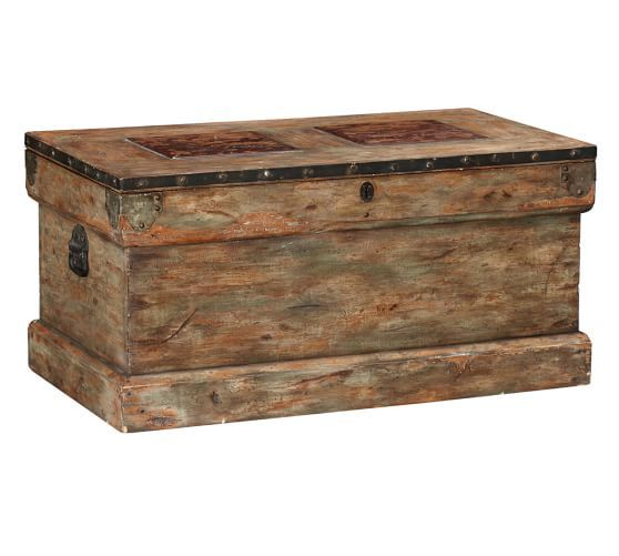 Rebecca Trunk   Pottery Barn.....craigslist or make from pallet ...