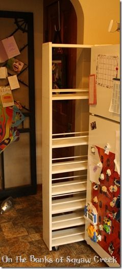 Diy Pull Out Pantry Tutorial Diy Kitchen Storage Laundry Room Diy Diy Storage