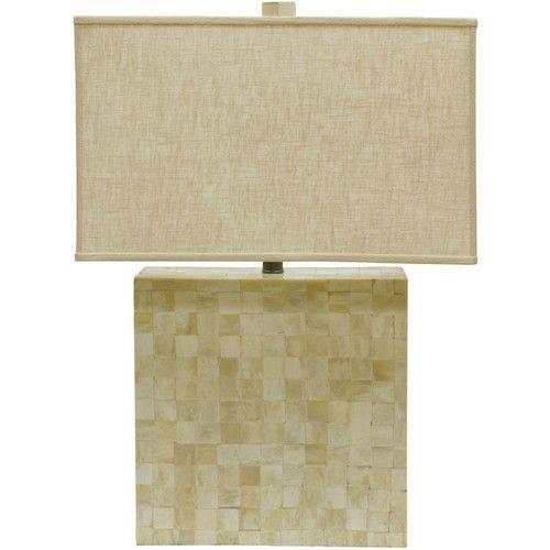Candice olson sahara bone 18 h table lamp with rectangular shade candice olson sahara bone 18 h table lamp with rectangular shade aloadofball Choice Image