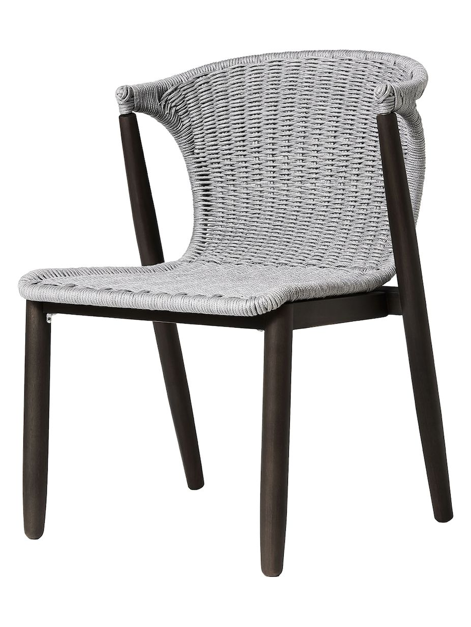 Modloft embras outdoor dining chairs set of 2 modloft outdoor embras
