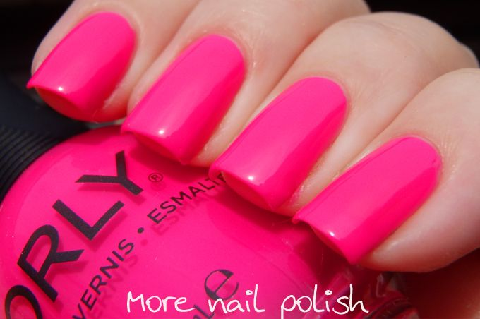 Orly Neon Heat Nails Pinterest Nails Nail Trends