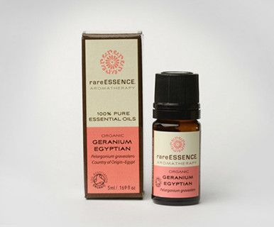 Essential Oil – Geranium, Egyptian (organic)