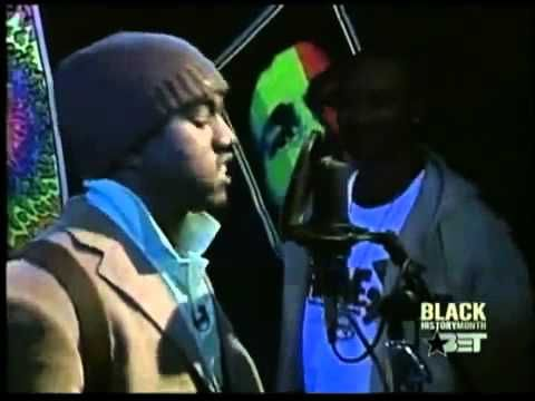 Kanye West in the booth on Rap City - YouTube   Music   Rap