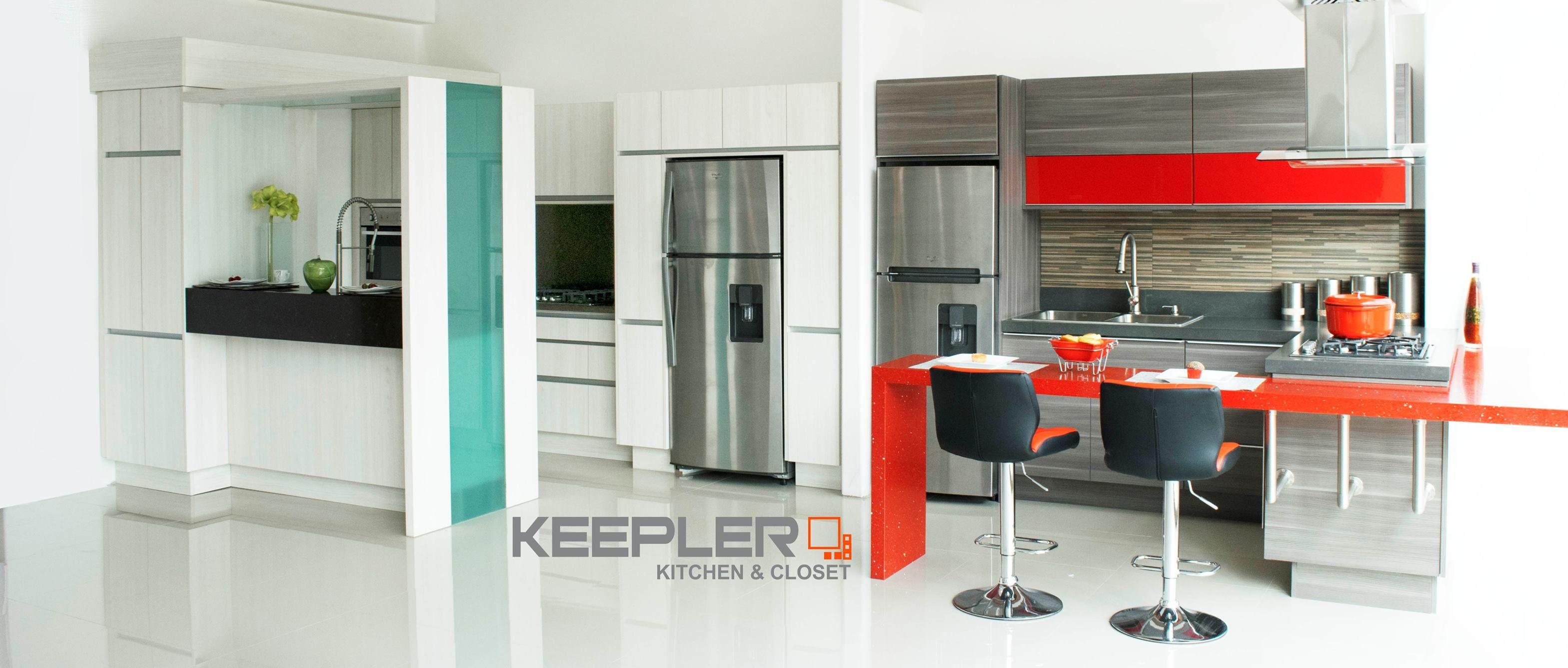 Sala De Exhibicion De Keepler Kitchen Closets Cocinas