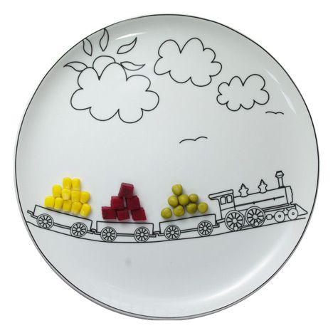 Fantastic Range Of Plates For Kids By Boguslaw Silwinski Click Through And Look At The Whole Range Pla Plantando Ideias Pratos Porcelana Pintura Em Ceramica