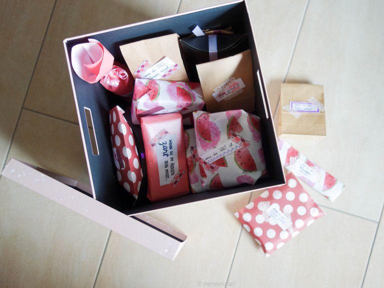 Geschenkidee für die beste Freundin: Wenn-Box   Freundin