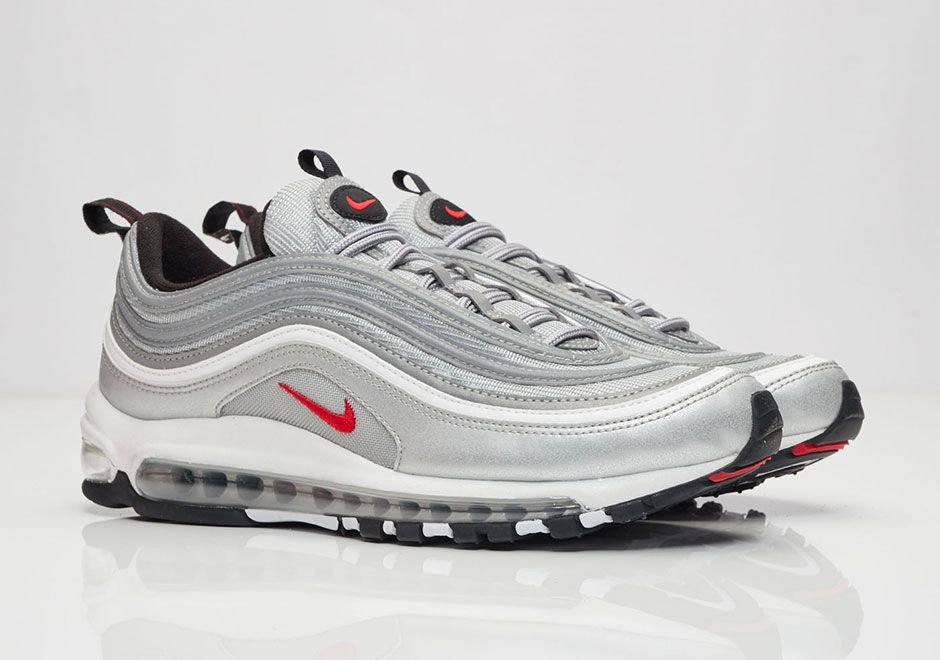 "quality design d5bee ae643  sneakers  news Where To Buy The Nike Air Max 97 OG QS ""Silver Bullet"""