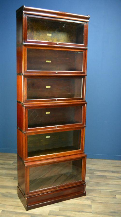 Mahogany Globe Wernicke Barristers Bookcase Circa 1900 392848 Ingantiques Co Uk