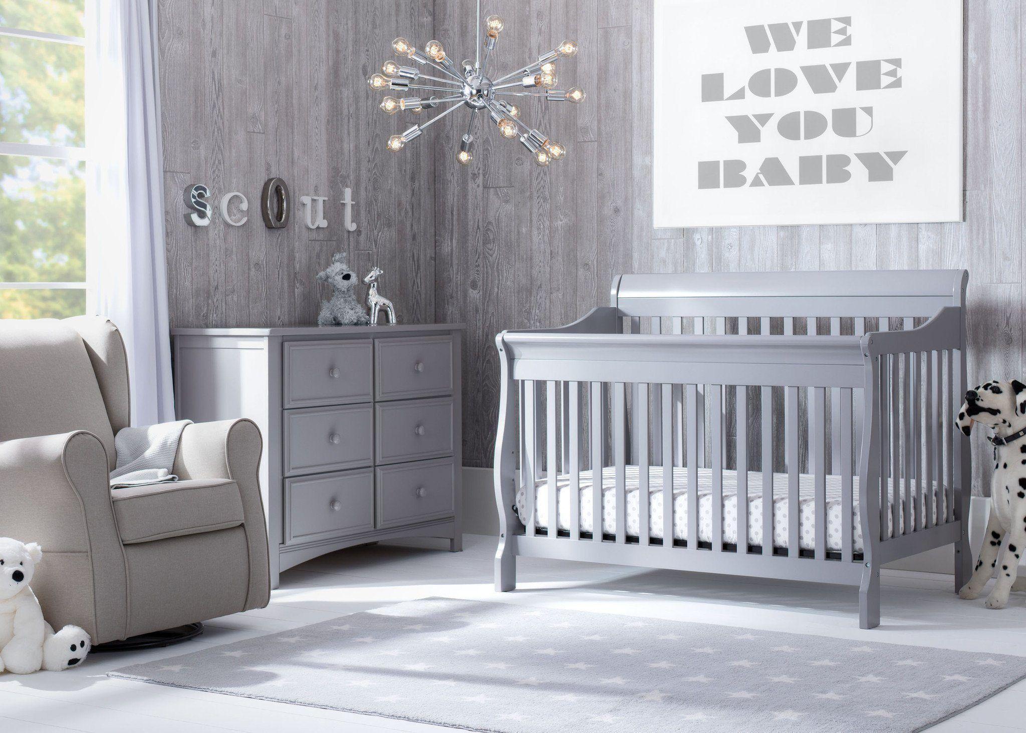 Folly in Grey 6-Piece Nursery Set in 2019 | Nursery ...