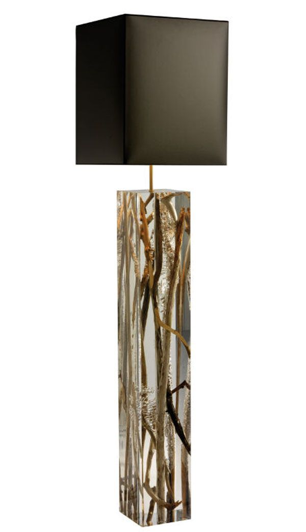 Acrylic Floor Standing Lamp | Organic Blended Products | Pinterest ...