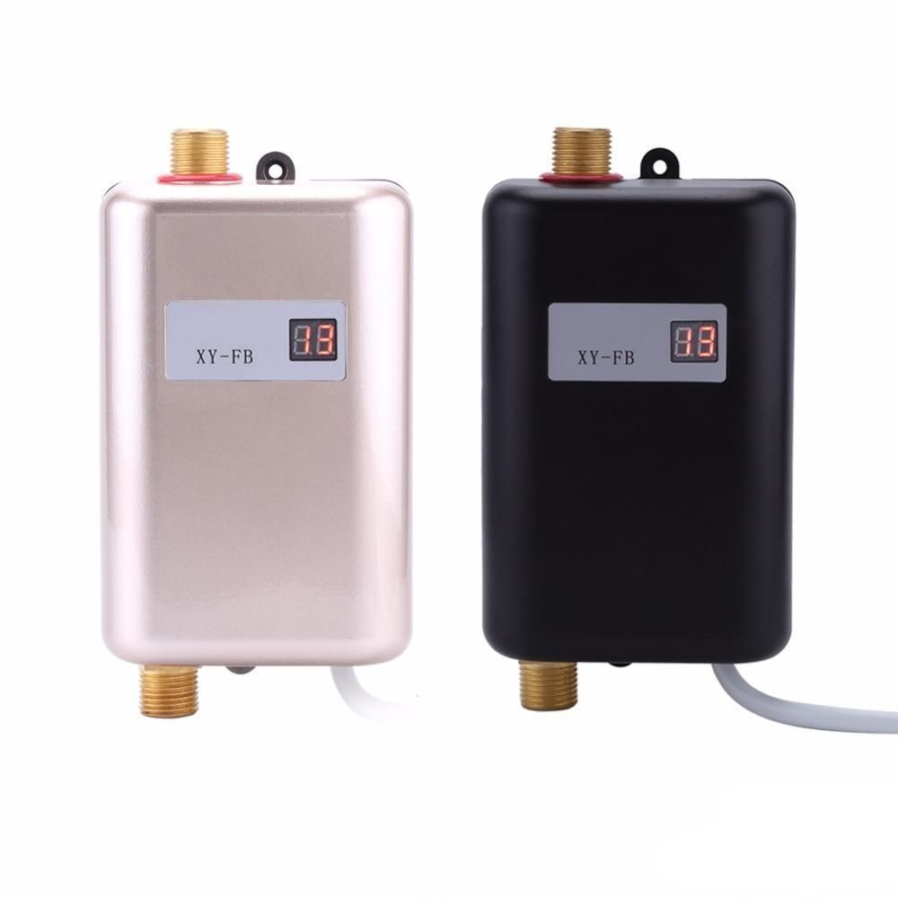 Mini Tankless Water Heater For Bathroom And Kitchen Sink Instant Water Heater Water Heating Water Heating Systems