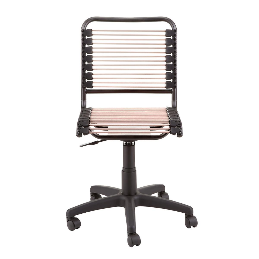 Blush Bungee Office Chair With Images Bungee Chair Office