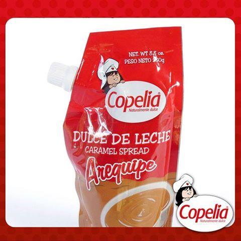 ¿Sabías que #Arequipe en #Francés se escribe confiture de lait? Solo en #Venezuela y #Colombia esta #DeliciaCopelia es conocida como #Arequipe. ¿Qué otros nombres conoces para el Arequipe?