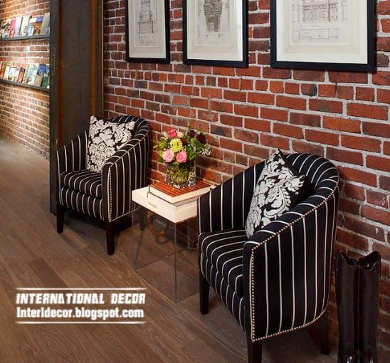 Top 10 Brick wall designs for interior