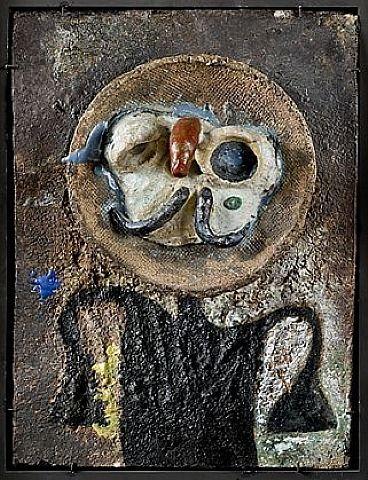 Joan Miró - 'Personnage au Nez Rouge - '1956'
