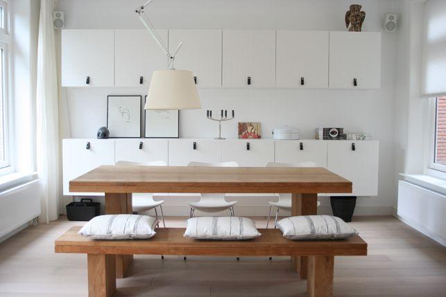 Binnenkijken Eetkamer Nicole | Interieur blog | Pinterest - Eetkamer ...
