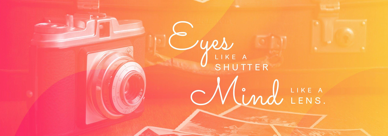 Aesthetic Tumblr Header Template For Photographer
