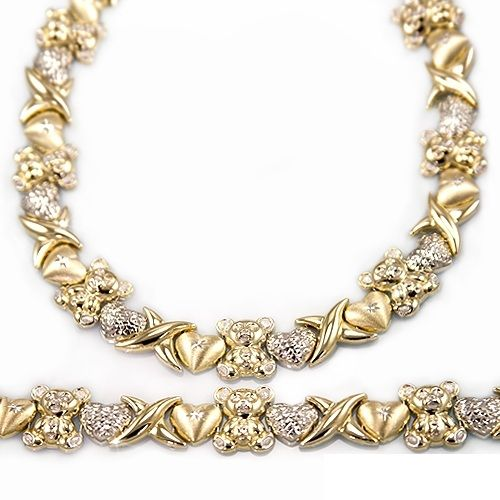 Gold Platinum Silver And Gold Plated Collections Xoxo Necklace Gold Bracelet For Women Wholesale Sterling Silver Jewelry