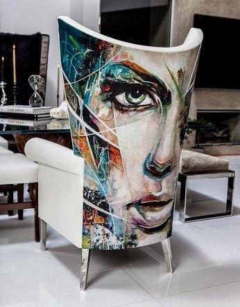 Chair Art!  Google+