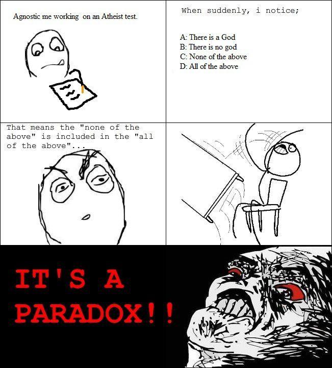 Paradox...