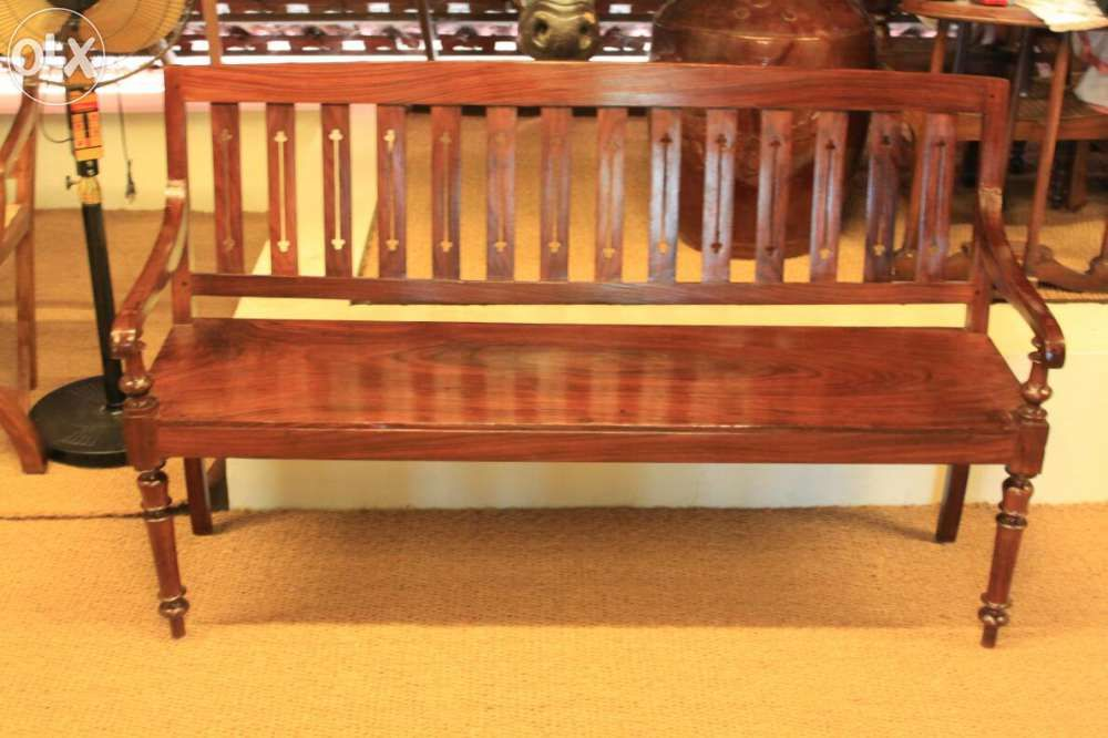 Awesome Antique Rose Wood Bench From Kerala Hardwood Furniture Pdpeps Interior Chair Design Pdpepsorg
