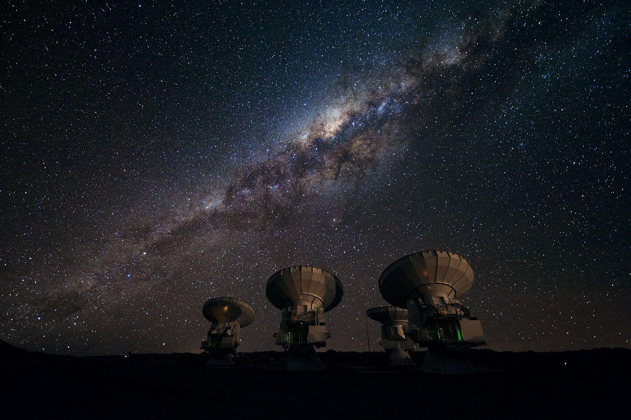 Ideias Embalsamadas: Você já viu a Via Láctea?