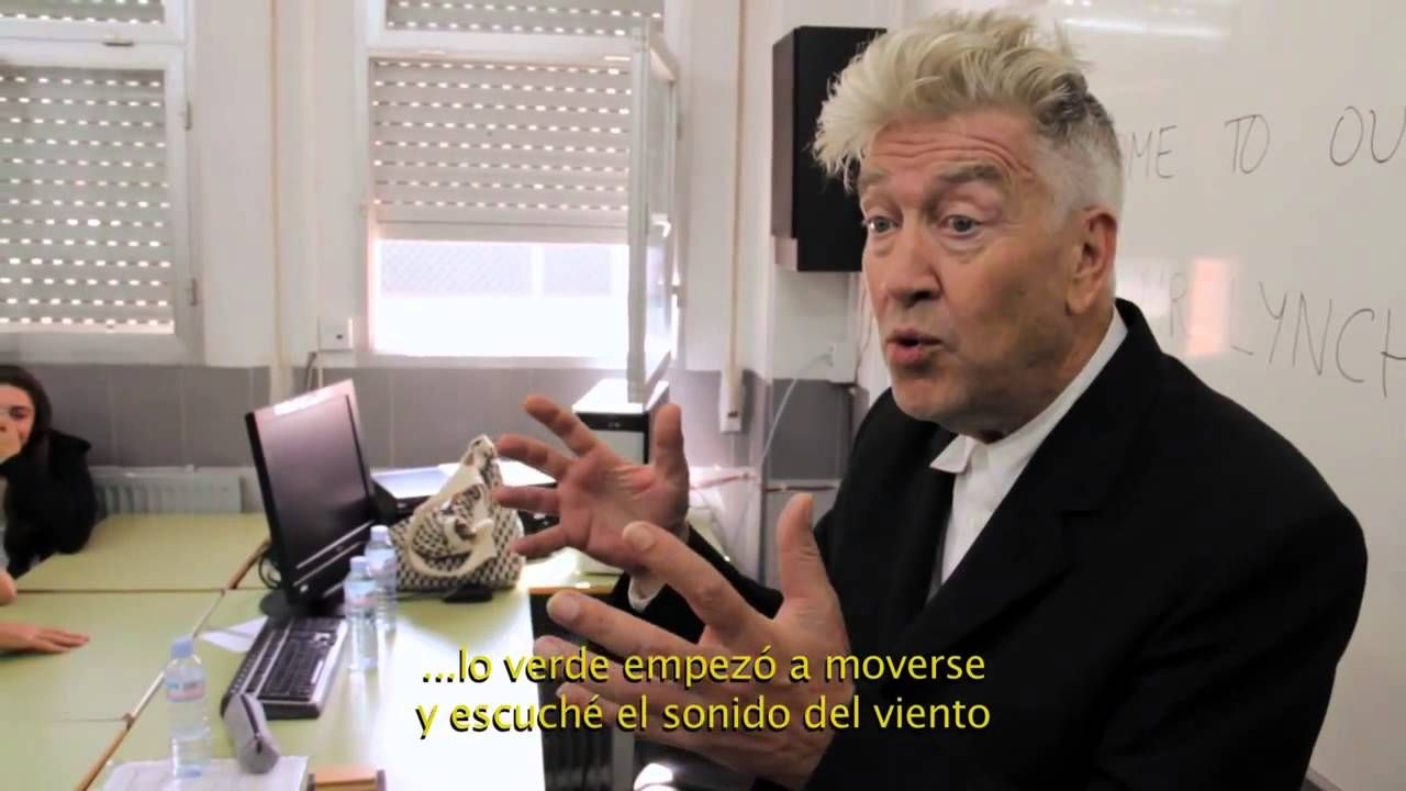 David Lynch en Madrid 14, 15 y 16 octubre 2013 Festival Rizoma. Subtítul...