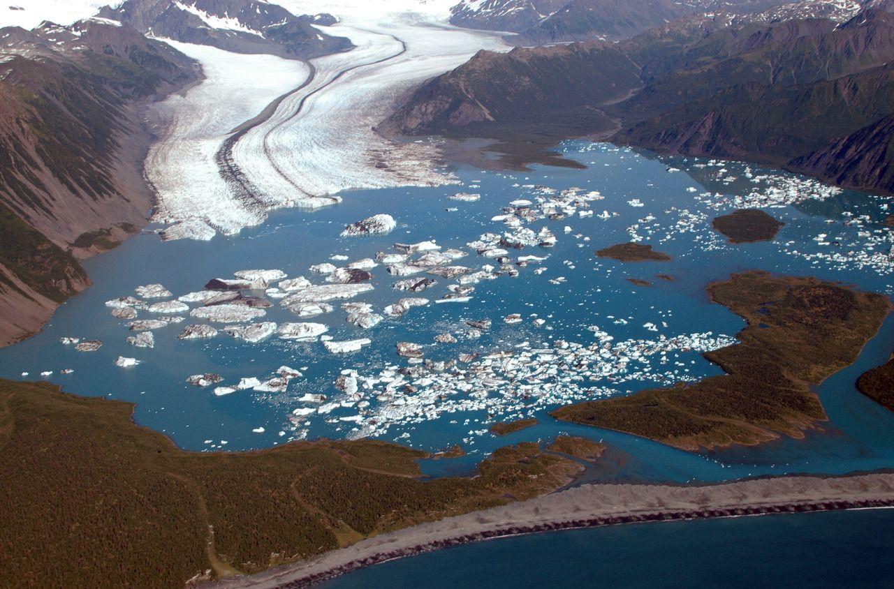 Glacier glacier kenai kenai peninsula