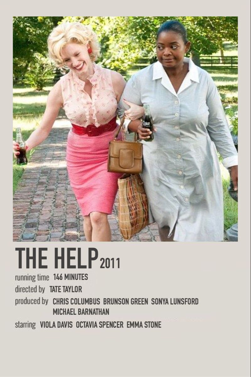 The Help 2011 In 2020 Film Posters Minimalist Movie Poster Wall Iconic Movie Posters