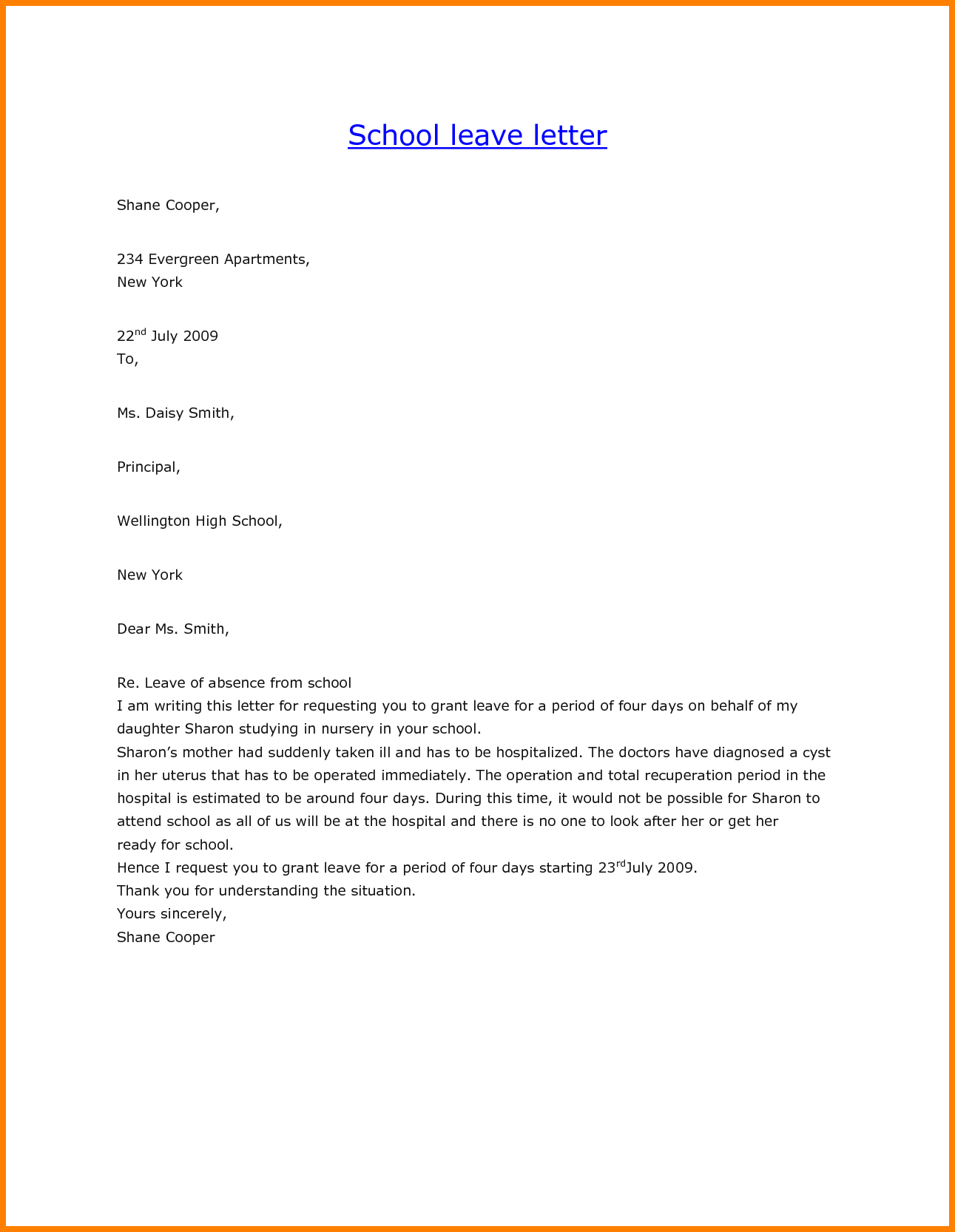 Letter For Leave The Job Ledger Paper Request Sample Lab
