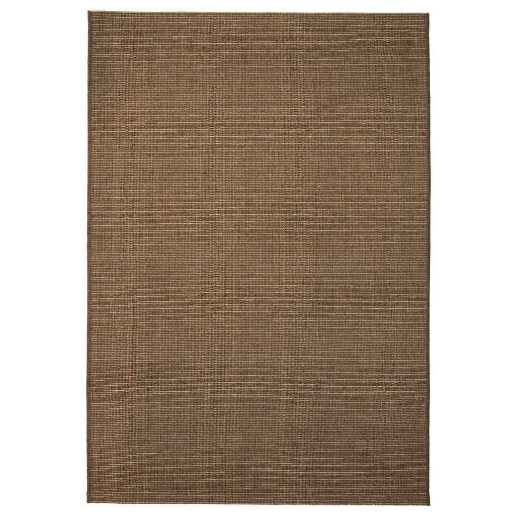 Outdoor Carpet Sisal Effect 160x230 Cm