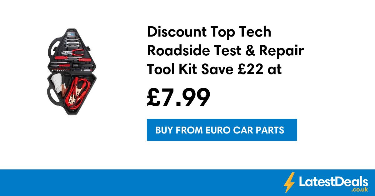 Discount Top Tech Roadside Test Repair Tool Kit Save 22 At