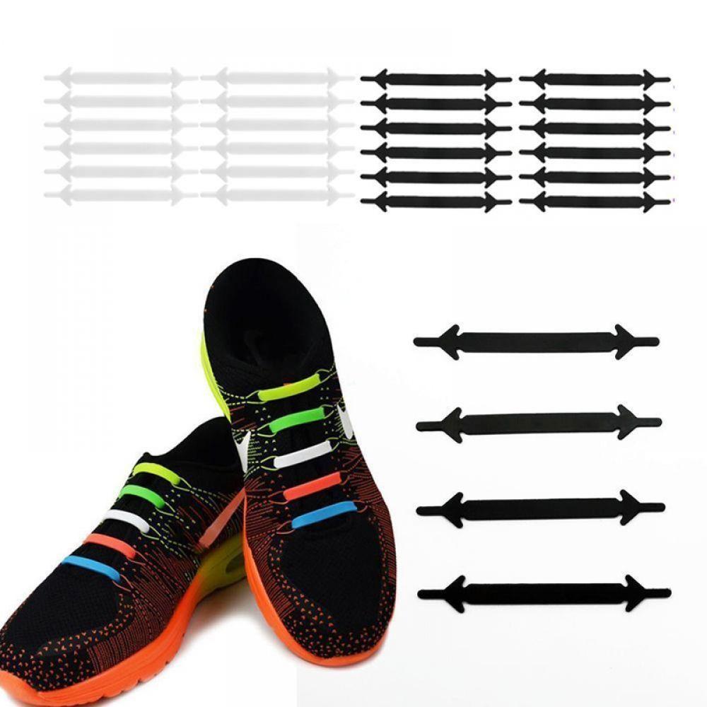 Elastic shoe laces, Rubber shoe laces