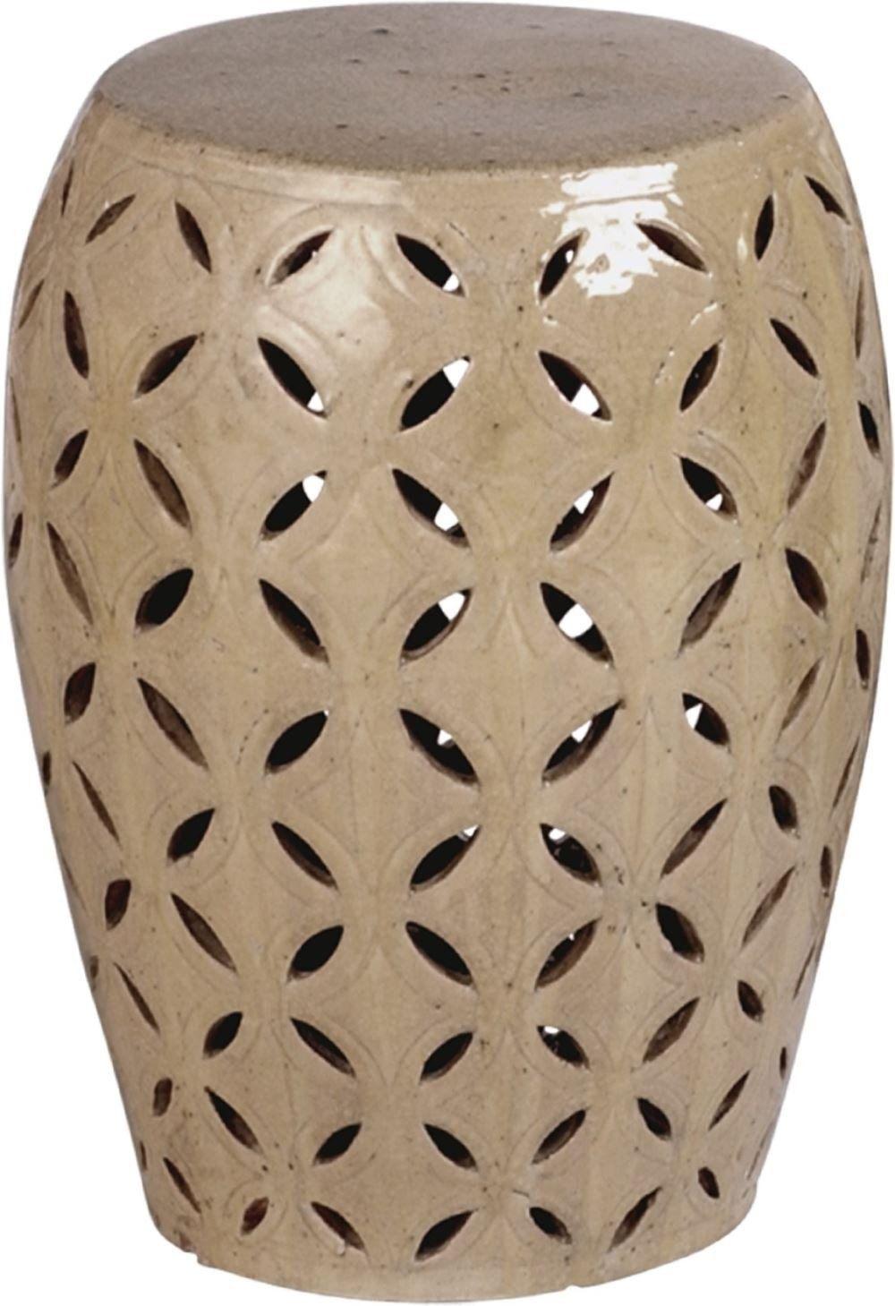 Lattice Stool Table Products Garden Ceramic