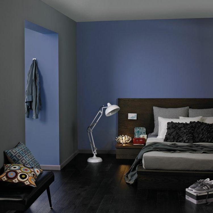 Wandfarben Inspiration \u2013 Ideen für Wandgestaltung mit Farben - ideen fr schlafzimmer streichen
