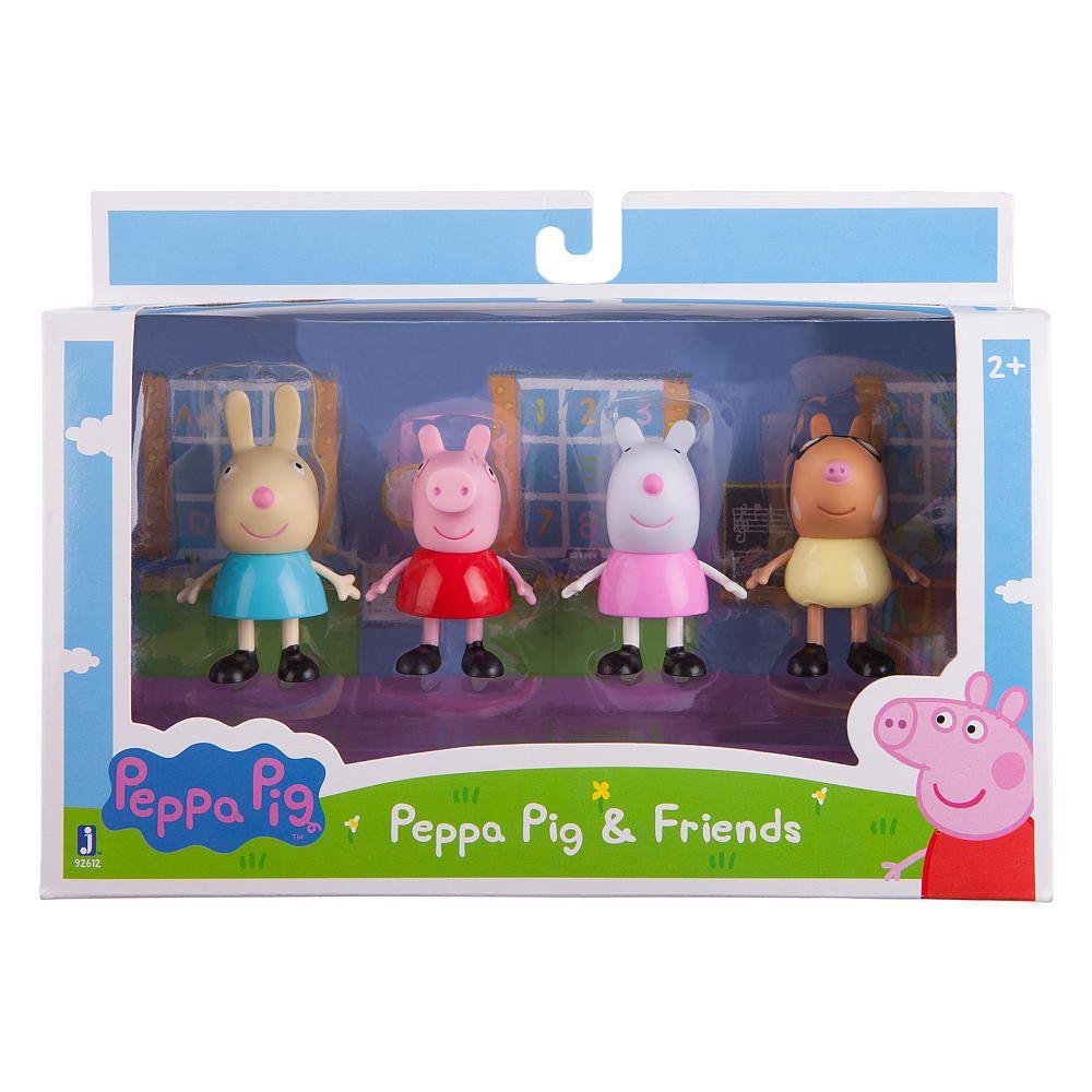Peppa Pig & Friends Figures 4 Pack NewSealed! Rebecca, Suzy