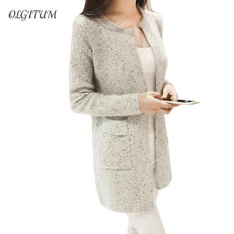 023163cb1 2018New arriver Winter Women Sweater Casual Long Sleeve Knitted ...