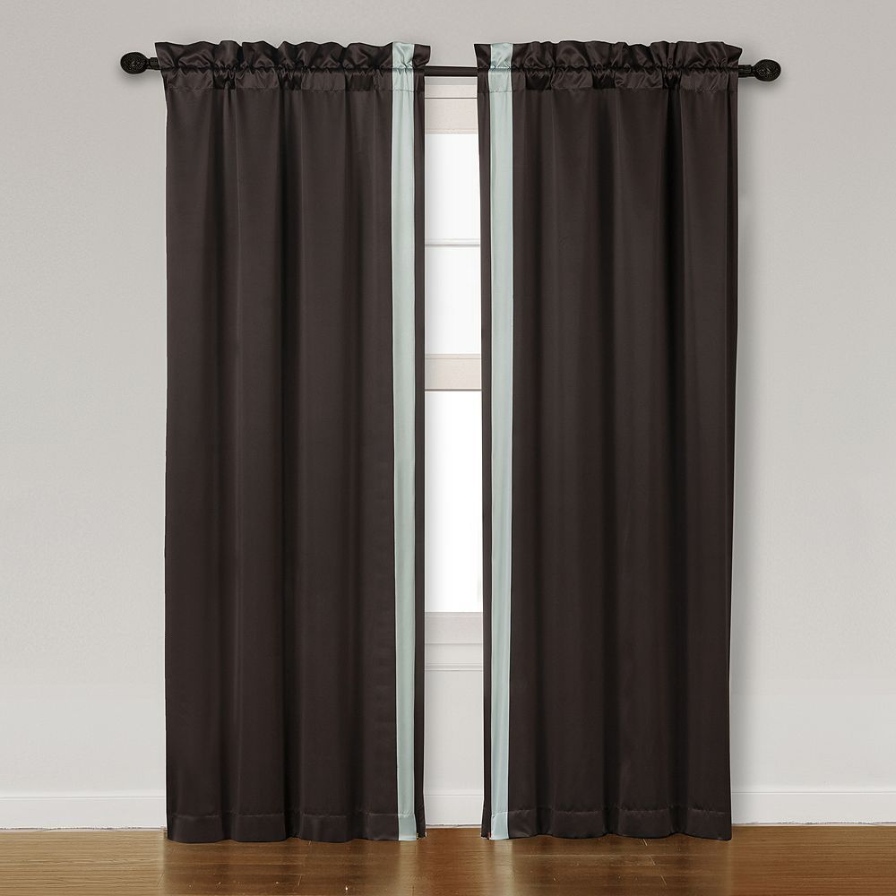Lenox curtain pair uu x uu brown window treatments