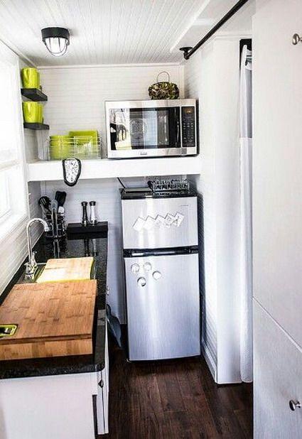 Como decorar cocinas muy pequeas como decorar una cocina hogar en 2019 cocinas casas y mini - Cocinas muy modernas ...