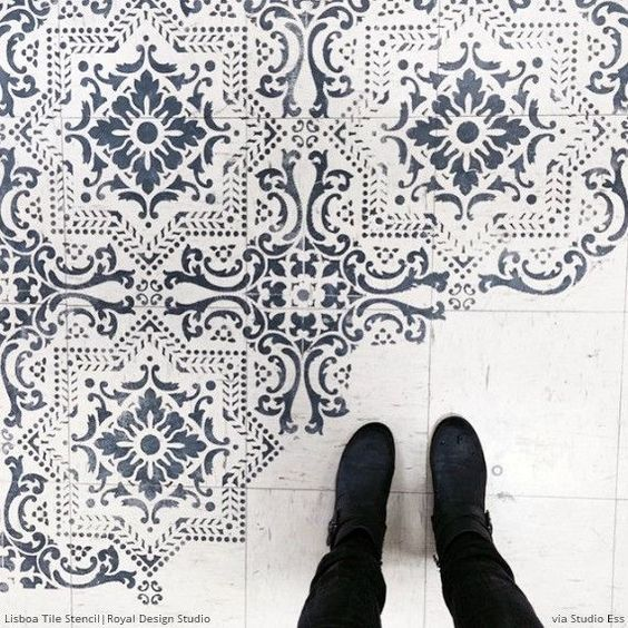 bathroom floor geometric stencil black white - Google Search ... on black and white simple designs, black and white circle designs, black and white rose, black and white vintage wallpaper, black and white line designs, black and white backgrounds, black and white floral designs, black and white graphic design, black and white fashion photography, black and white stencil designs, black and white border designs, black and white scroll designs, black and white art designs, cool designs, black and white celtic designs, black and white art photography, black and white flowers, black and white patterns, black and white corner designs, black and white abstract designs,