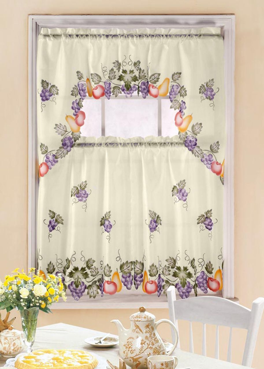 clearance curtain country fruit com curtains kitchen thecurtainshop sets