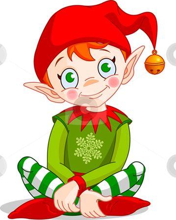 Cartoon Christmas Elves | Christmas_elf stock vector clipart ...