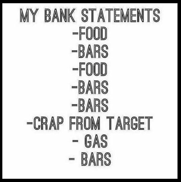 Pin by susan swendsen on Funny Pinterest - bank statements