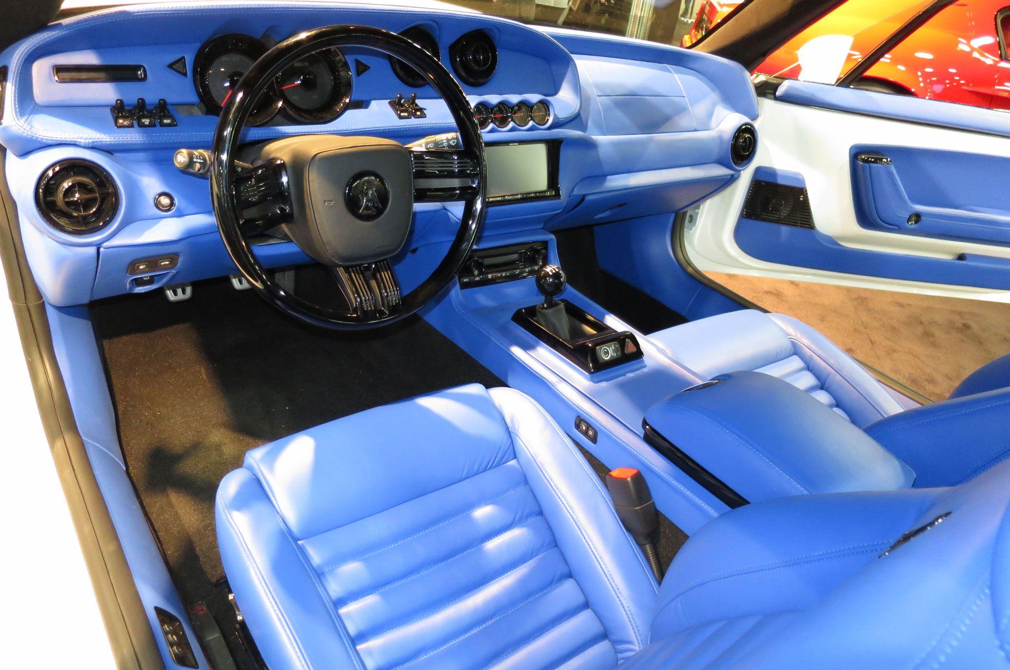2015 Equus Bass 770 Interior Blue  AWT