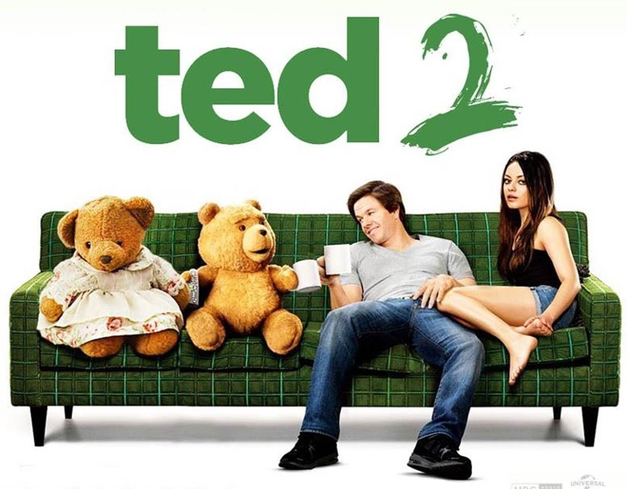 Ted 2 Newlywed Couple Ted And Tami Lynn Want To Have A Baby But In Order To Qualify To Be A Parent Ted Will Have To Prove He Ted Movie Movies