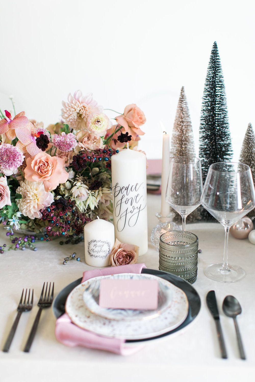 winter tablescape inspiration unique christmas holiday rh pinterest com